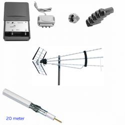 Antennpaket digitaltv problemlösaren TURBO