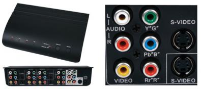 Digitaltvexperten Komponent switch manuell/auto 4:1