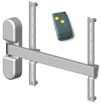 HDconnect Motorstyrt väggfäste svängbart 180 grader Parva