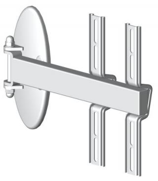 HDconnect Manuellt väggfäste svängbart 180° Mini