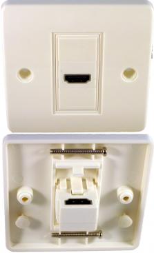 Digitaltvexperten Vägguttag HDMI