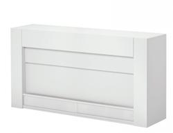 Q 8250 TV möbel lift Pianolack vit