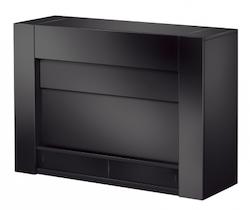 Q 8250 TV möbel lyft Pianolack svart