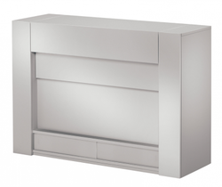 Q 8250 TV möbel lyft Silver