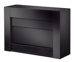 Q 8237 TV möbel lift Pianolack svart