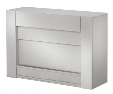 Q 8237 TV möbel lift Silver