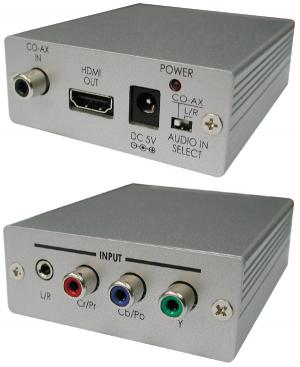 CYP/// CP-281H Komp. & analogt / digitalt ljud till HDMI
