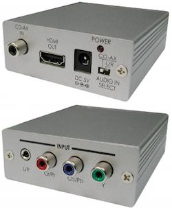 CP-281H Komp. & analogt / digitalt ljud till HDMI