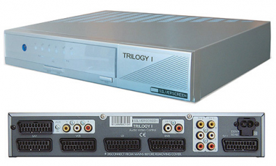 Digitaltvexperten Trilogy I Scart RGB Switch / växel