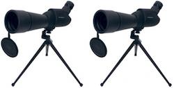 KN-SCOPE20 2-pack Tubkikare 20-60X, bordsstativ