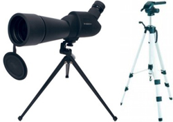 KN-SCOPE20 Tubkikare 20-60X Zoom med två stativ.