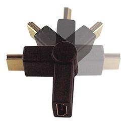 HDMI Flexibel Vinkel adapter tvåvägs