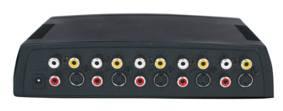 Digitaltvexperten RCA / SVHS switch 4 in 1 ut
