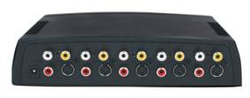 RCA / SVHS switch 4 in 1 ut