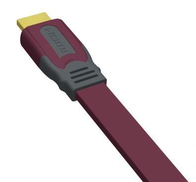 Real Cable EHD-FLAT HDMI PLATT 0,5 m