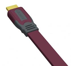 EHD-FLAT HDMI PLATT 1 m