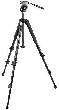 Manfrotto Stativpaket 055-XB och 128-RC
