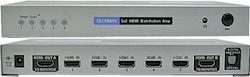 HDDA52 V1.3 HDMI Switch 5 in 2 ut toslink ut