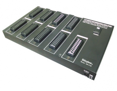 Shinybow SB-3720 Scart splitter 1 in 8 ut