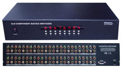 Shinybow SB-5588 Komponent Matrix switch 8 in 8 ut
