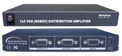 Shinybow SB-1102 VGA Splitter 1 in 2 ut