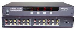 SB-5544 AV Matrix Switch 4 in 4 ut
