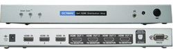 HDDA34 V1.3 HDMI Switch 3 in 4 ut toslink ut