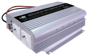 HQ Inverter 12-230 Volt 1000 Watt mod. våg laddare