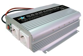 HQ Inverter 24-230 Volt 1000 Watt mod. våg laddare