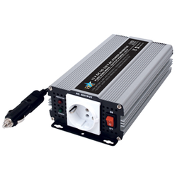 Inverter 24 till 230 Volt 300 Watt ren sinusvåg