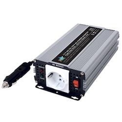 Inverter 24 till 230 Volt 600 Watt ren sinusvåg