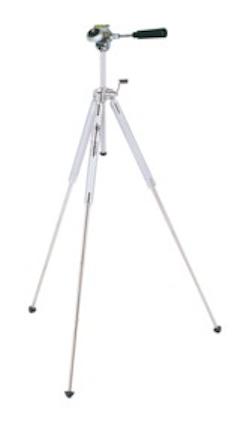 Teleskopstativ, mittstolpe med vev