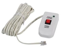 Fjärrkontroll till inverter med 5 meter kabel