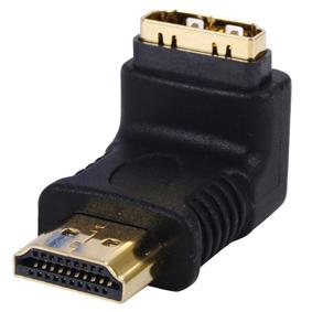 Standard HDMI vinkel adapter 90°