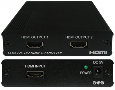 CYP/// HDMI splitter 1 in 2 ut