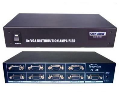 Shinybow SB-1108 VGA Splitter 1 in 8 ut