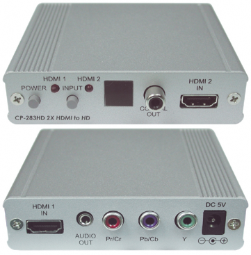 CYP/// CP-283HD 2X HDMI till komponent ( YPbPr )