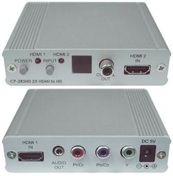 CP-283HD 2X HDMI till komponent ( YPbPr )