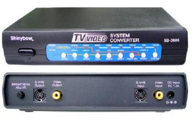 Shinybow SB-3686 NTSC/PAL Converter
