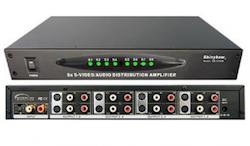 SB-3709M A/V S-VHS splitter 1 in 8 ut
