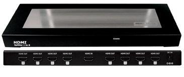 CYP/// CHDMI-18C HDMI splitter 1:8 Extrem Längd