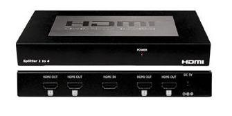 CYP/// CHDMI-14C HDMI splitter 1:4 Extrem Längd