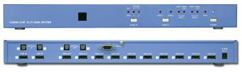 Cypress T. CHDMI-210T HDMI splitter 2:10 Extrem Längd