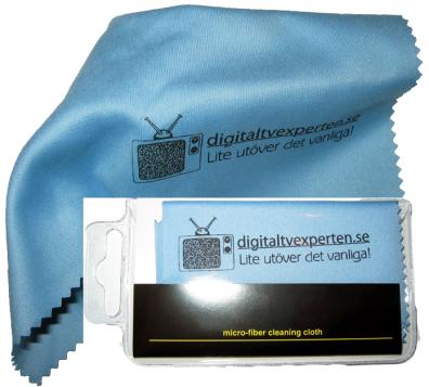 Digitaltvexperten Putsduk för rengöring av optik