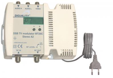 Digiality Terra MT29C RF-Modulator UHF / VHF Stereo