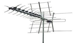 Kombiantenn UHF / VHF 57 element