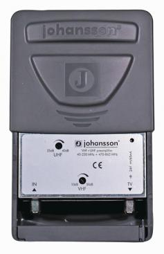 Johansson Antennförstärkare UHF / VHF kombi