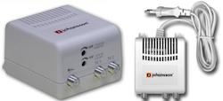 Antennförstärkare, distribution 1:2 UHF /VHF
