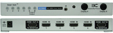 Octava HDMI42CS-V1.3 Switch / Växel