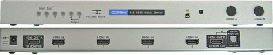 HDMI42MX-V1.3 HDMI Matrix Switch / Växel 4:2